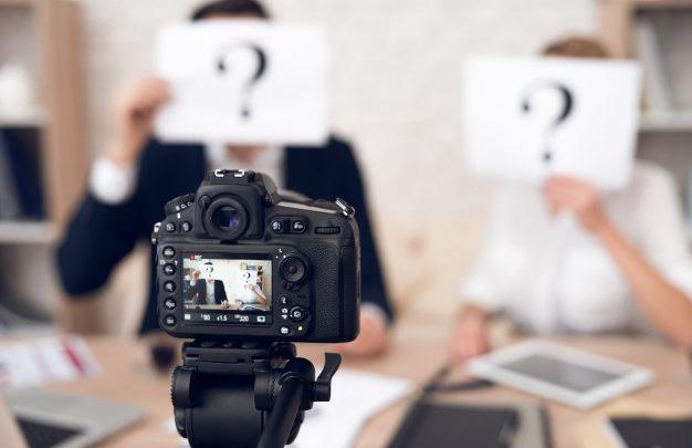 Parlare in video Media Training